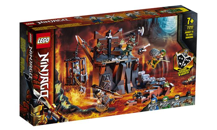 2 לגו LEGO: מסע אל נבכי הגולגולת של נינג'גו