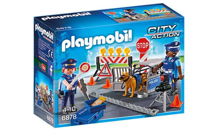 2 פליימוביל Playmobil: מחסום משטרתי