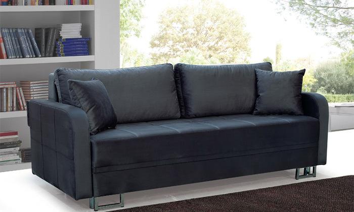 2 ספה תלת מושבית נפתחת למיטה זוגית Or Design דגם טולדו