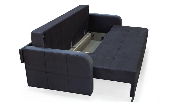3 ספה תלת מושבית נפתחת למיטה זוגית Or Design דגם טולדו