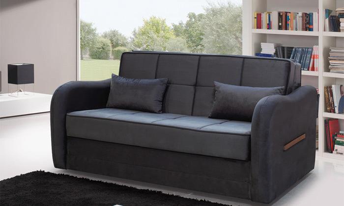 2 ספה דו מושבית נפתחת למיטה זוגית Or Design דגם טרובה