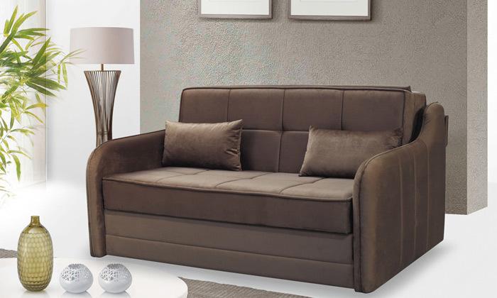 2 ספה דו מושבית נפתחת למיטה זוגית Or Design דגם דרו