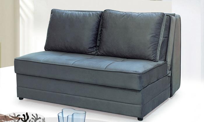 2 ספה דו מושבית נפתחת למיטה זוגית Or Design דגם ספודיו