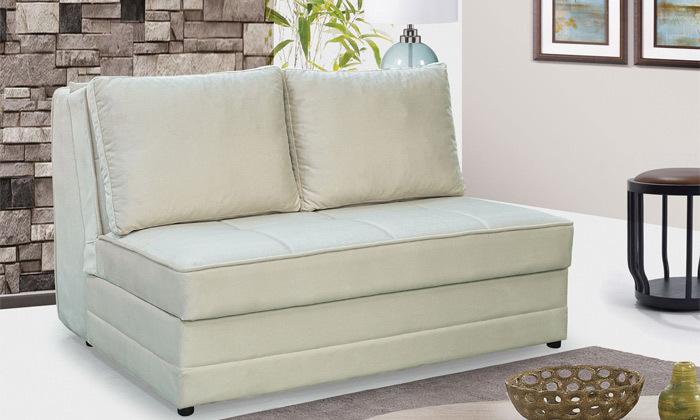 3 ספה דו מושבית נפתחת למיטה זוגית Or Design דגם ספודיו