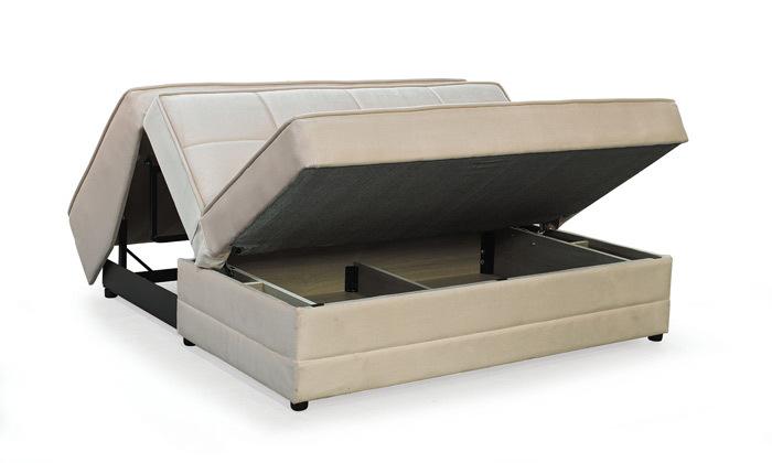 4 ספה דו מושבית נפתחת למיטה זוגית Or Design דגם ספודיו