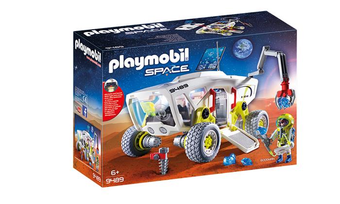 2 פליימוביל Playmobil: רכב מחקר מאדים
