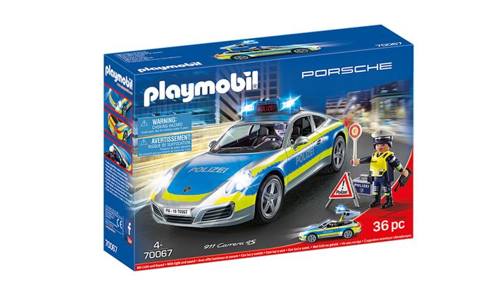 2 פליימוביל Playmobil: מכונית פורשה משטרתית