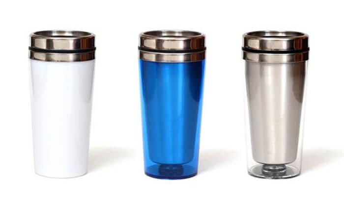 2 סט 3 כוסות תרמיות