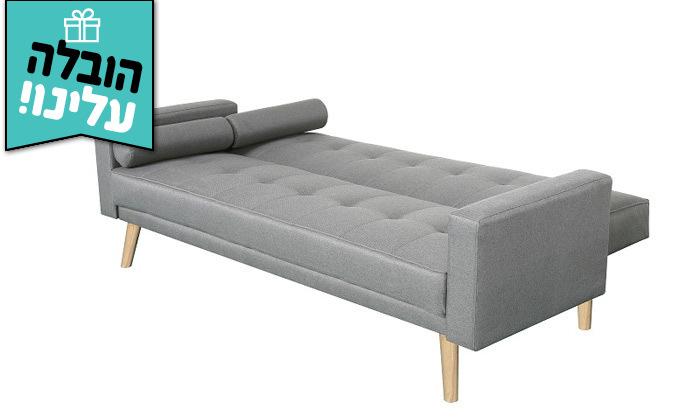 3 ספה נפתחת למיטה GAROX דגם שירלי - משלוח חינם