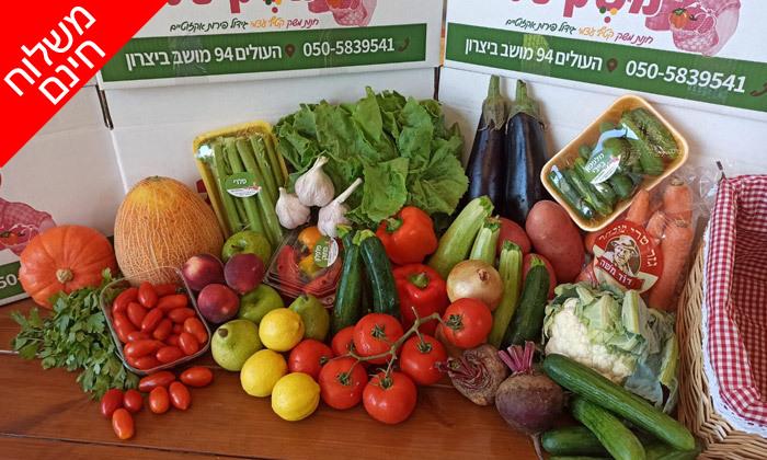 2 מארזי פירות, ירקות וביצים במשלוח חינם, באר שבע עד חדרה