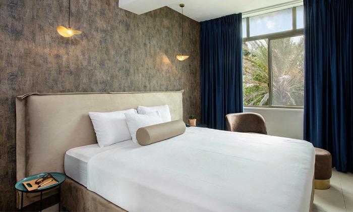 3 חופשה במלון עדן אין Eden Inn - זכרון יעקב, כולל ארוחת בוקר