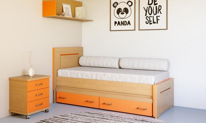 3 מיטת ילדים House Design כולל מיטת חבר וזוג מגירות