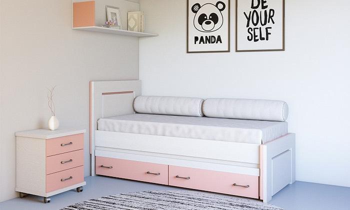 5 מיטת ילדים House Design כולל מיטת חבר וזוג מגירות