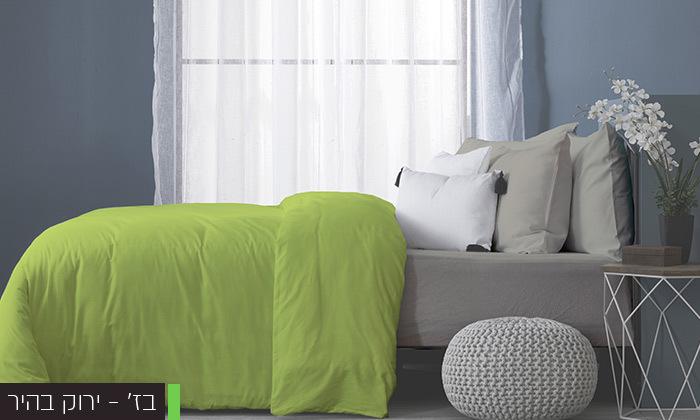 6 סט מצעים מלא למיטה זוגיתעשוי בד ג'רסי 100% כותנה
