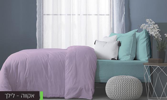 7 סט מצעים מלא למיטה זוגיתעשוי בד ג'רסי 100% כותנה