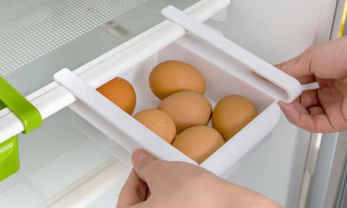 3 מגירות אחסון למקרר