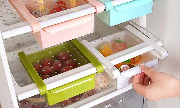 4 מגירות אחסון למקרר