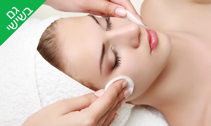 2 טיפול פנים בקליניקה של אולגה ציפיס, כפר ורדים