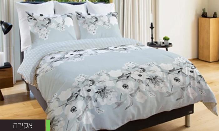 3 סט מצעים 100% כותנה למיטה זוגית Vardinon