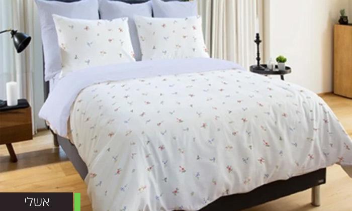 4 סט מצעים 100% כותנה למיטה זוגית Vardinon