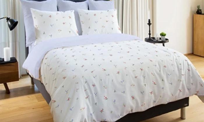 5 סט מצעים 100% כותנה למיטה זוגית Vardinon