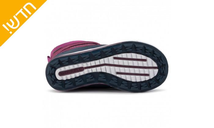 4 מגפיים לילדים וילדות מירל MERRELL בצבע כחול-סגול