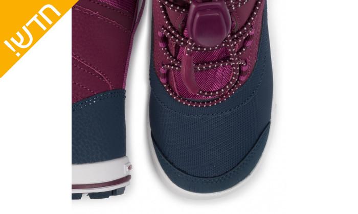 5 מגפיים לילדים וילדות מירל MERRELL בצבע כחול-סגול