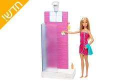 בובת ברבי Barbie SHOWER