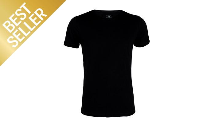 7 מארז 5 חולצות טי שירט לגבר POLO CLUB