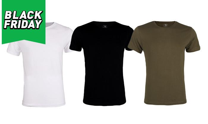 2 מארז 6 חולצות טי שירט לגבר POLO CLUB