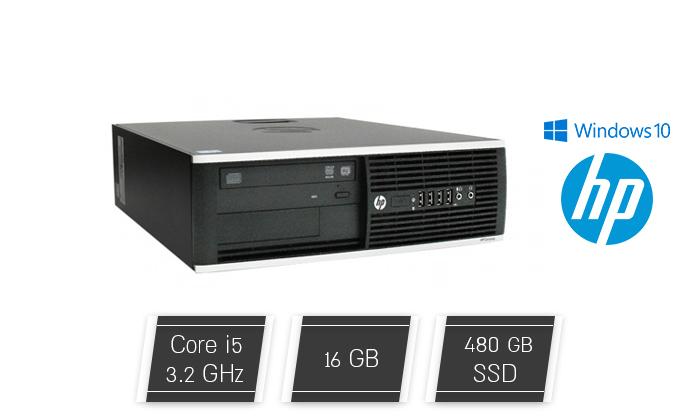 2 מחשב נייח HP עם מעבד i5