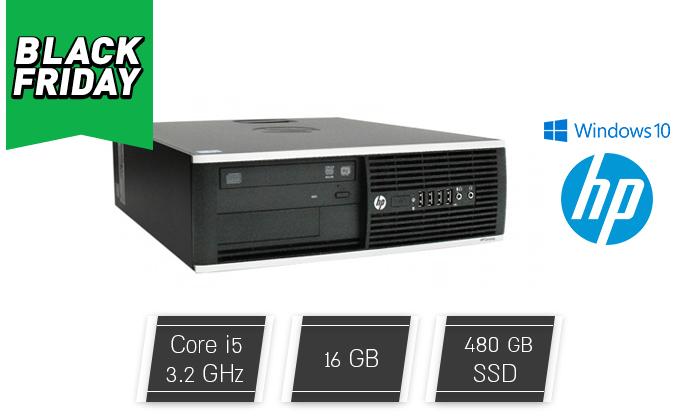 2 מחשב נייח מחודש HP דגם 8300 עם זיכרון 16GB ומעבד i5