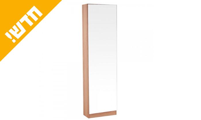 5 ארון עם דלת מראה דגם גפן
