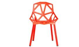 כיסא אוכל אדום