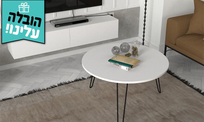 16 מזנון צף 1.8 מטר ושולחן סלון עגול במגוון דגמים לבחירה- משלוח חינם