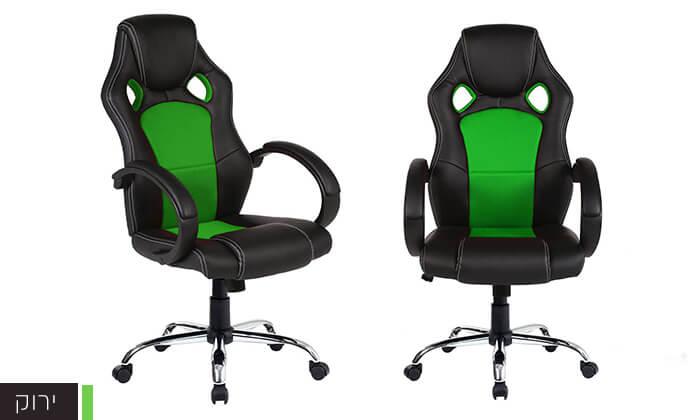 4 כיסא גיימינג אורתופדי