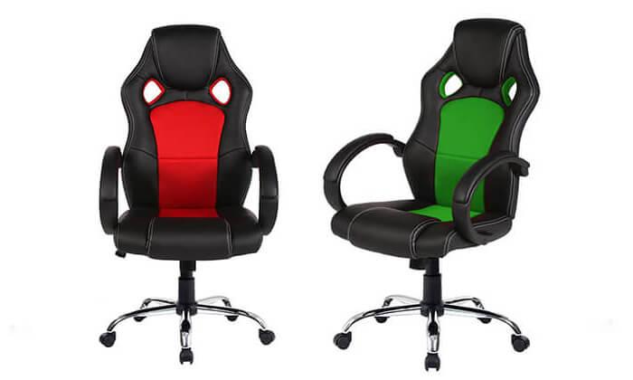 6 כיסא גיימינג אורתופדי