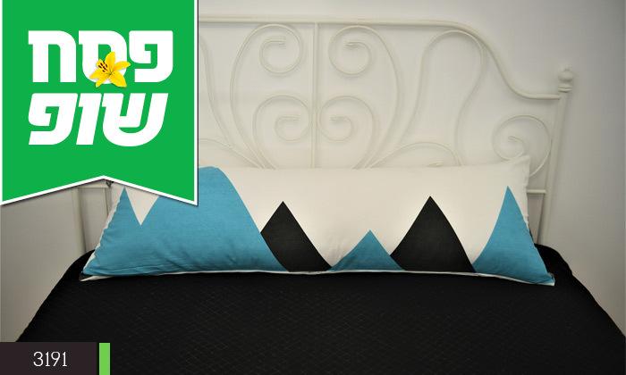 5 כרית שינה ארוכה כולל ציפית