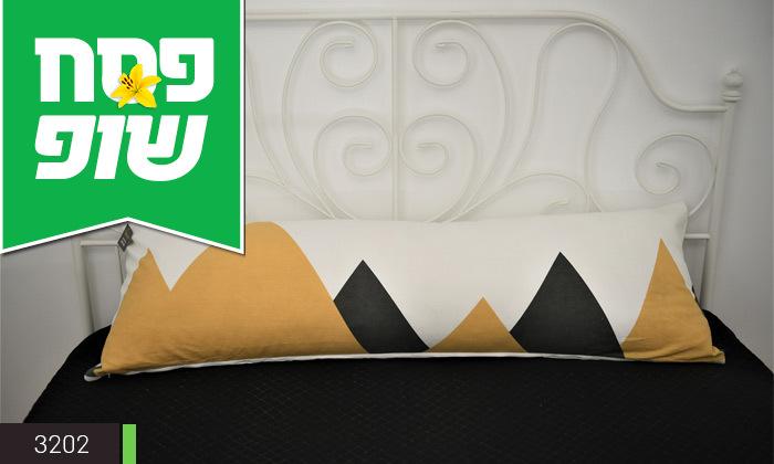 6 כרית שינה ארוכה כולל ציפית