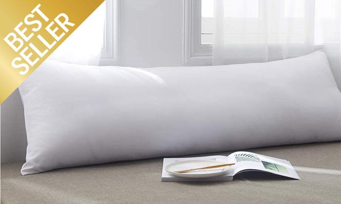 2 כרית שינה ארוכה כולל ציפית