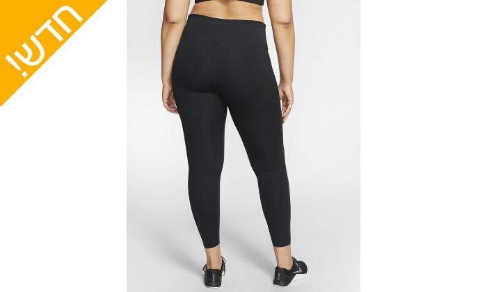 5 טייץ נייקי לנשים Nike Plus Size