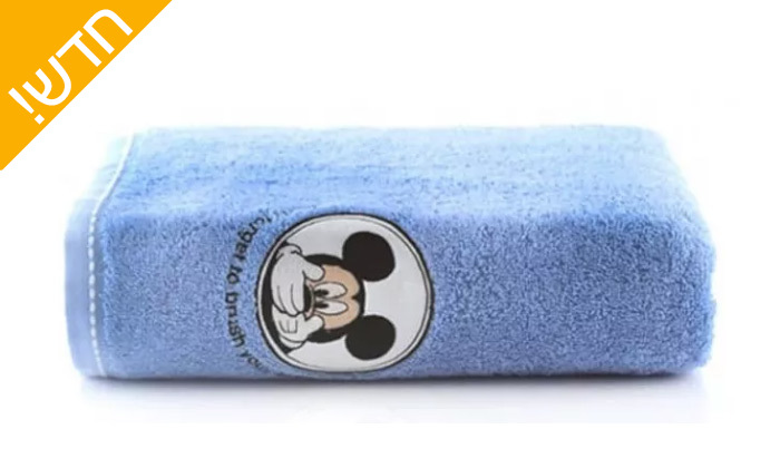 5 מגבת גוף לתינוקות 100% כותנה - ורדינון