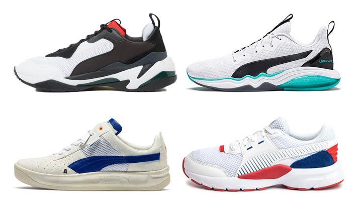 2 נעלי גברים פומה PUMA במגוון דגמים לבחירה