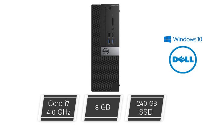 2 מחשב נייח דל DELL עם מעבד i7