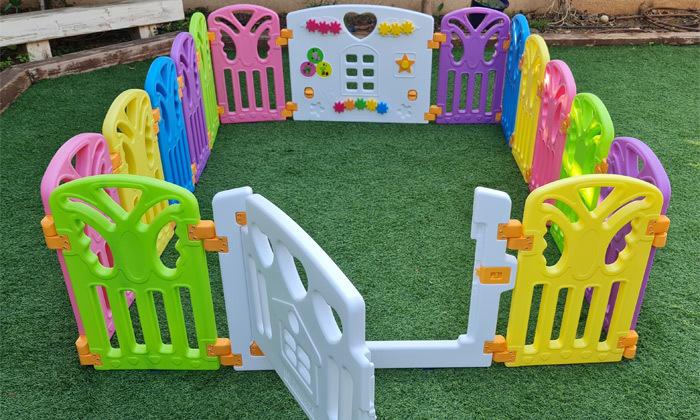 6 גדר פעילות לילדים ולתינוקות דגם Risas