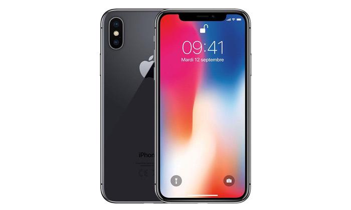 2 סמארטפון Apple iPhone X 64GB