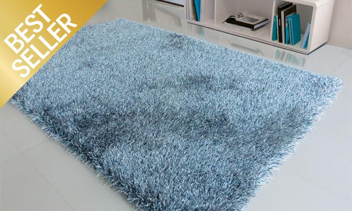 3 שטיח שאגי בצבעים וגדלים לבחירה WE HOME דגם סופי