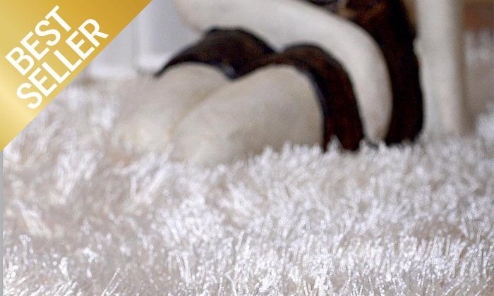 4 שטיח שאגי בצבעים וגדלים לבחירה WE HOME דגם סופי