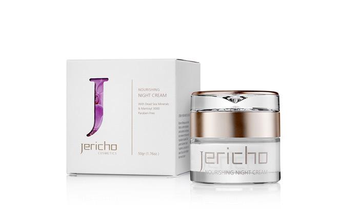 3 מארז Jericho: קרם לחות יום, קרם לילה וסרום מינרלי