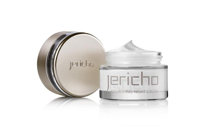 4 מארז Jericho: קרם לחות יום, קרם לילה וסרום מינרלי